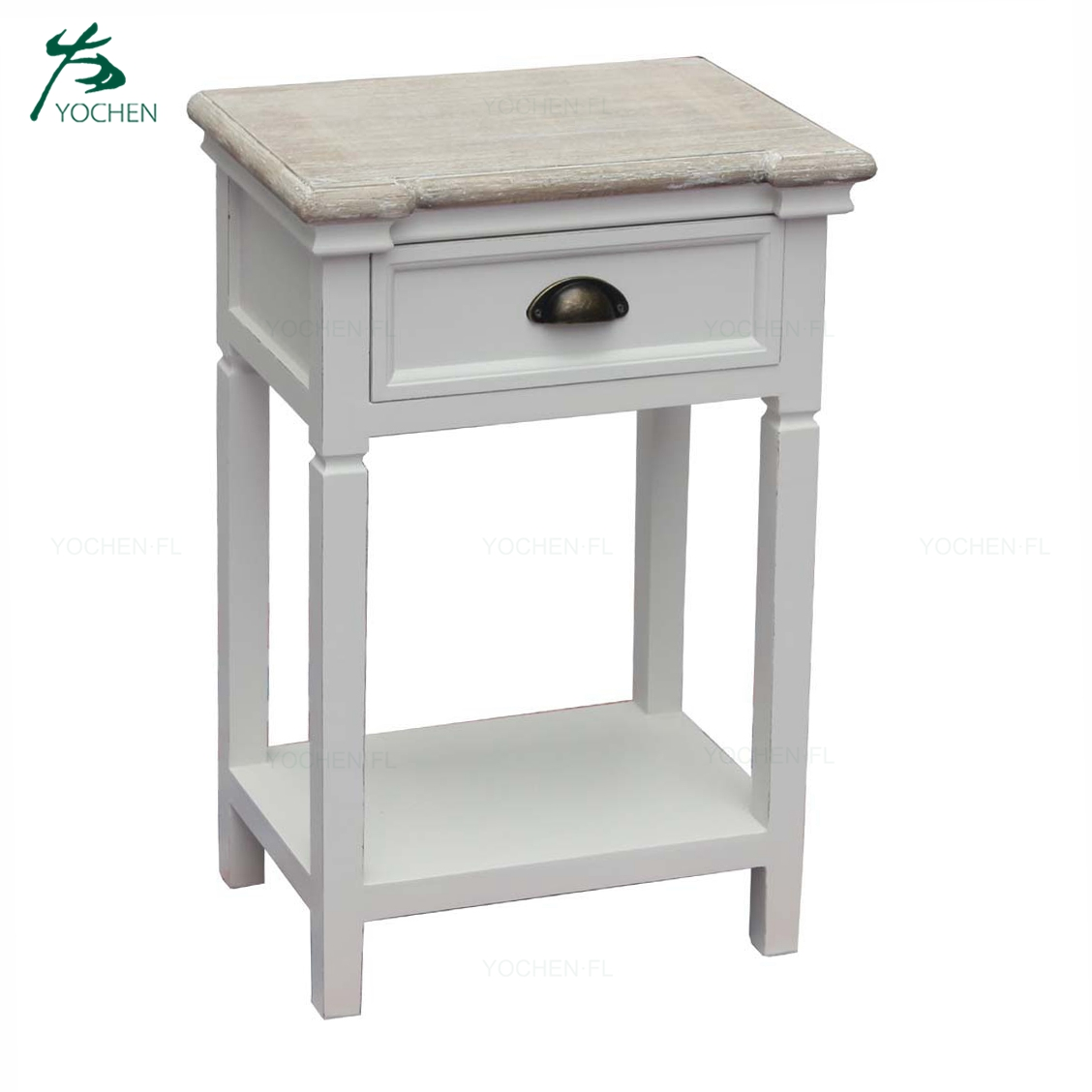 Bedroom Wooden Nightstand Bedside End Table