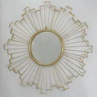 Metal Decorative Hanging Round Design Wall Mount Mirror
