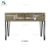 living room wooden furniture mirrored chest of drawer
