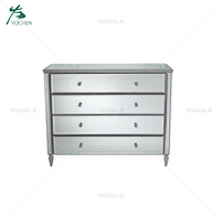 Home Decorative Mirrored Furniture Chest Buffet/Cabinet