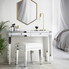 Mirrored glass make up table dressing table