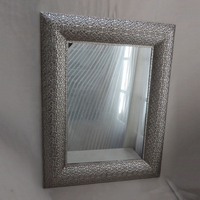 Silver antique glass wall mirror for home decoration