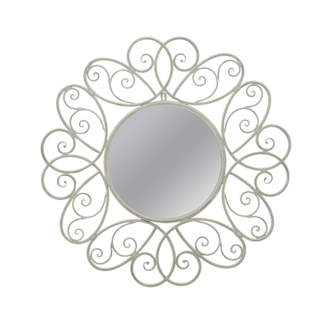 bathroom mirror decorative vanity decorative wall metal mirror