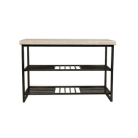 home decoration metal stone luxury console table