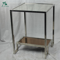 Hot sale Metal Leg Frame Small Side Coffee Table For Living Room