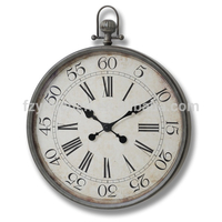 Antique Pocket Watch Wall Clock