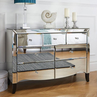 mirrored furniture wholesale storage drawer chest living room cabinets