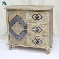 cheap antique furniture decorative wall standing wooden cabinets