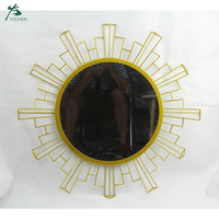 Sun burst mirror silver sunburst mirror wall decor