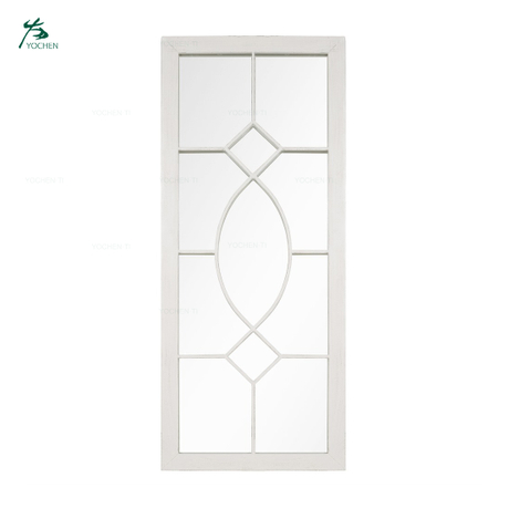 European Style Tall Rectangular Wall Mirror For Garden Or Outdoor Decorative