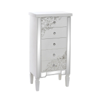 tallboy chest 5 drawer mirrored furniture wooden furniture designs cabinet