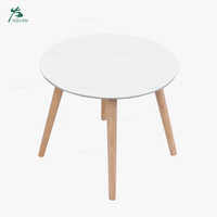 Modern White Small Coffee Table With Hairpin Legs Hotel Coffee Table