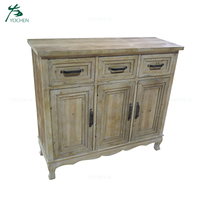 Shabby Chic Reclaimed Home Furniture Wooden Antique Cabinet