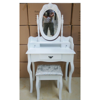 wooden makeup dresser cheap vanity dressing table