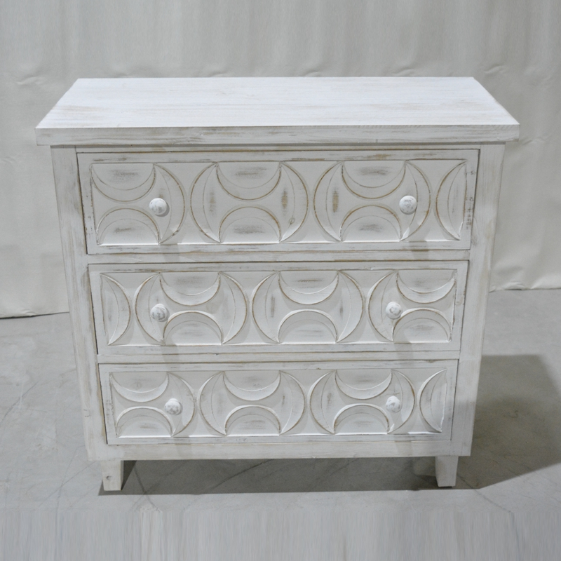 living room wooden cabinet hand painted sideboard