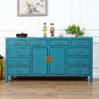 2 door antique chinese sideboard furniture wooden cabinet