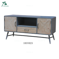Home furniture tv unit cabinet wood modern TV stand