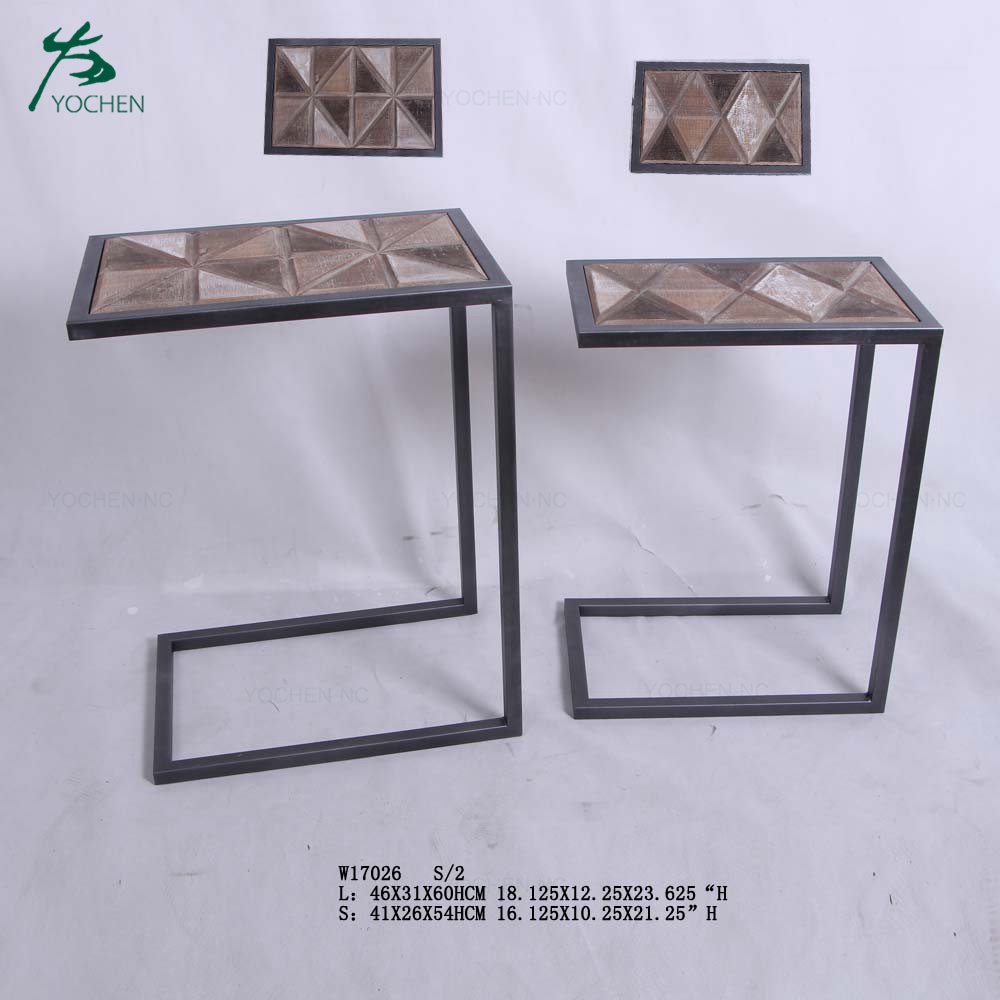 living room furniture modern center table wooden end table