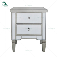 modern popular venetian mirror bedside tables