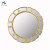 Home Decor Metal Frame Gold Antique Wall Metal Mirror