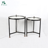 Antique small modern metal bed sofa side table