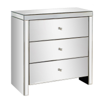 mirrored furniture wholesale silver glass mirrored chest drawers