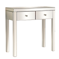 bedroom furniture mirrored console table modern mirrored dresser